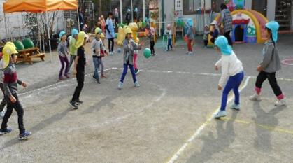 遊びと運動に力を入れる